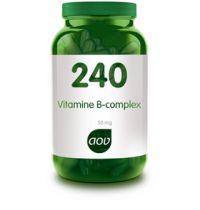 240 Vitamine B complex 50 mg AOV gezondheidswebwinkel