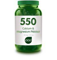 AOV 550 Calcium en Magnesium Pidolaat 90 capsules