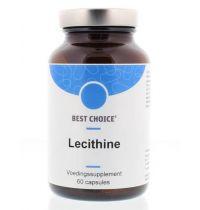 Best Choice Lecithine 60 capsules gezondheidswebwinkel