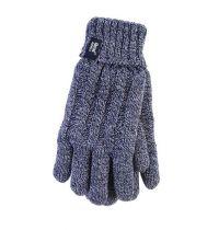 Heat Holders Dames Handschoenen S-M navy