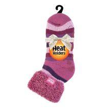 Heat Holders Dames Thermosokken 37-42 muted pink stripe