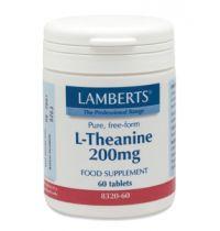 Lamberts L Theanine 200 mg. 60 tabletten