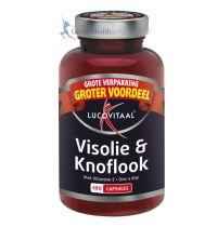 Lucovitaal Visolie en Knoflook 480 capsules
