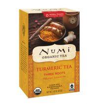 Numi Organic Tea Turmeric tea three roots gezondheidswebwinkel
