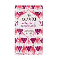 Pukka Elderberrry en echinacea gezondheidswebwinkel