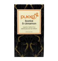 Pukka Licorice en cinnamon thee gezondheidswebwinkel