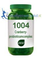 1004 Cranberry- en probioticumcomplex AOV gezondheidswebwinkel