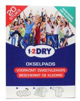 1-2DRY okselpads Small Wit 20 stuks Gezondheidswebwinkel.jpg