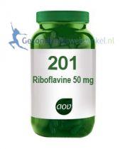 201 Riboflavine 50 mg aov gezondheidswebwinkel