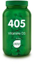 AOV 405 Vitamine D3 15 mcg 180 capsules