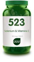 523 Selenium en Vitamine E AOV gezondheidswebwinkel