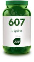 607 L-Lysine 500 mg AOV gezondheidswebwinkel