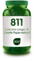 AOV 811 Curcuma Longa- en Zwarte Peper-extract 60 capsules