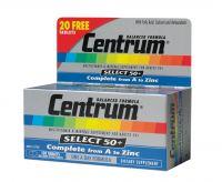Centrum Select 50+ 60 tabletten