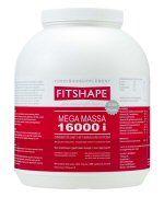 Fitshape Mega 16000 I Aardbei 2500 gram