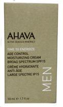 Ahava Men age control moisterizer spf15 50 ml gezondheidswebwinkel