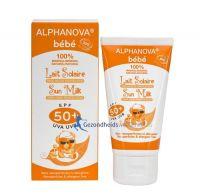 Alphanova Sun milk baby SPF50+ bio 50 gram gezondheidswebwinkel.nl