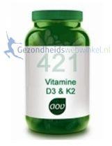 AOV 421 Vitamine D3 & K2 gezondheidswebwinkel