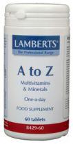 Lamberts A-Z Multi 60 tabletten