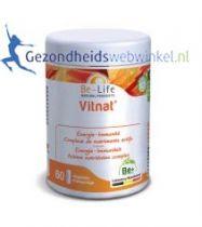 Be Life Multivitamine Vitnat bio 60 softgels gezondheidswebwinkel.nl