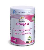 Be Life Omega 3 500 180 capsules gezondheidswebwinkel.nl
