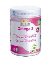 Be Life Omega 3 500 90 capsules gezondheidswebwinkel.nl