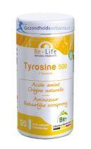 Be Life Tyrosine 500 120 softgels gezondheidswebwinkel.nl