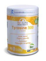 Be Life Tyrosine 500 60 softgels gezondheidswebwinkel.nl