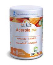 Be Life Vitamine C Acerola 750 bio 50 softgels gezondheidswebwinkel.nl