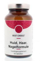 Best Choice Huid Haar en Nagelformule 60 tabletten gezondheidswebwinkel