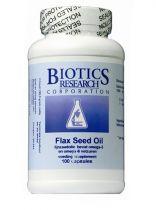 Biotics Lijnzaad Flax Seed Oil Gezondheidswebwinkel