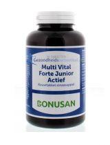 Bonusan Multi vital forte junior actief 90 kauwtablettent gezondheidswebwinkel