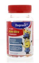 Dagravit Kids-Xtra vitaminions gums 6+ 60 stuks gezondheidswebwinkel