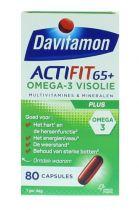 Davitamon Actifit 65+ omega 3 80 capsules