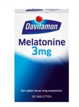 Davitamon Melatonine 3 mg 30 tabletten gezondheidswebwinkel