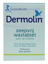 Dermolin Zeepvrij Wastablet gezondheidswebwinkel
