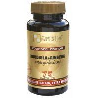 Artelle Rhodiola Ginseng Energie 75 capsules