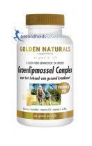 Golden Naturals Groenlipmossel complex 180 capsules gezondheidswebwinkel