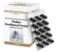 Golden Naturals Groenlipmossel vloeibare formule 120 softgels gezondheidswebwinkel