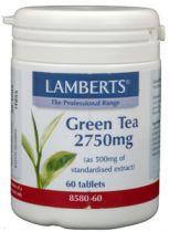Lamberts Groene Thee 60 tabletten