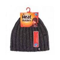 Heat Holders Heren Muts one size charcoal