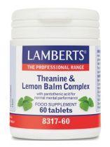 Lamberts Theanine en citroenmelisse gezondheidswebwinkel