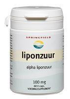 Springfield Liponzuur 100 mg. 60 capsules