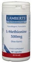 Lamberts L Methionine 500 mg. 60 stuk