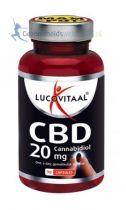 Lucovitaal CBD 20 mg 90 capsules Gezondheidswebwinkel
