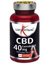 Lucovitaal CBD 40 mg 90 capsules Gezondheidswebwinkel
