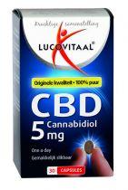 Lucovitaal CBD 5 mg 30 capsules gezondheidswebwinkel