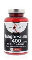 Lucovitaal Magnesium 400 l Tryptophan 120 Kapseln