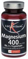 Lucovitaal Magnesium 400 l Tryptophan 60 Kapseln