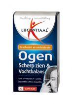 Lucovitaal Ogen scherp zien en vochtbalans 30 capsules gezondheidswebwinkel